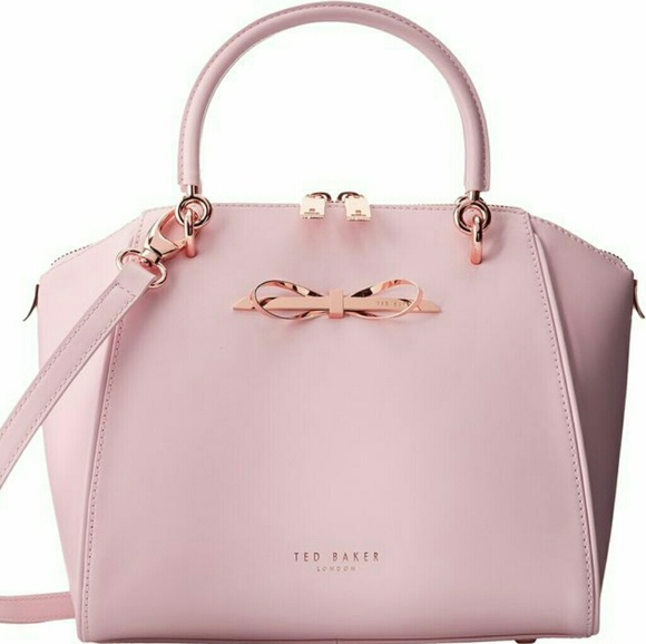 93e662c2f7 **SALE**Ted Baker London Pink Lailey Leather Bag. M_5b3bb2509fe486ae63f2d1f4